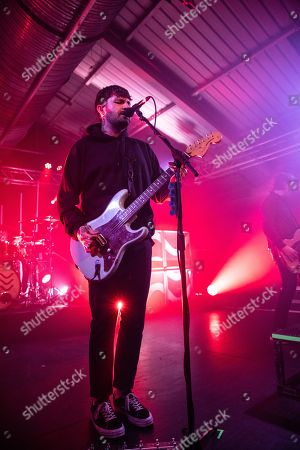 Editorial picture of Lower Than Atlantis in concert, The Engine Rooms, Southampton, UK - 12 Apr 2018