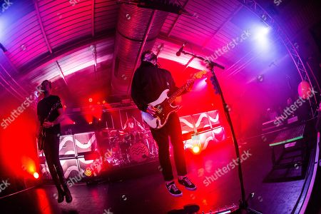 Editorial image of Lower Than Atlantis in concert, The Engine Rooms, Southampton, UK - 12 Apr 2018