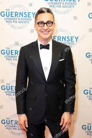 Editorial photo of 'The Guernsey Literary and Potato Peel Pie Society' film premiere, Guernsey, UK - 12 Apr 2018