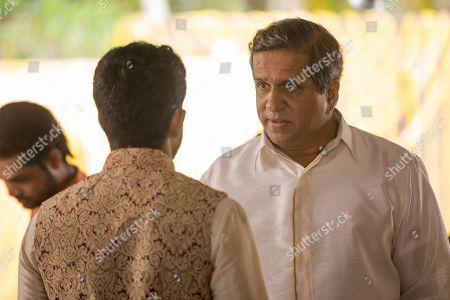 Sagar Radia as AJ Nair and Darshan Jariwalla as Dr Ram Nair