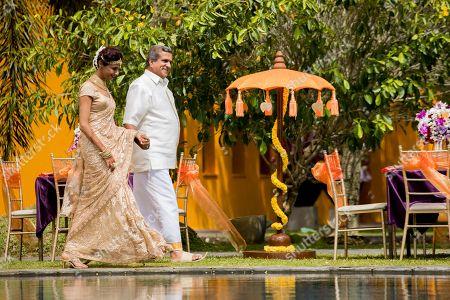 Achint Kaur as Mala and Darshan Jariwalla as Dr Ram Nair