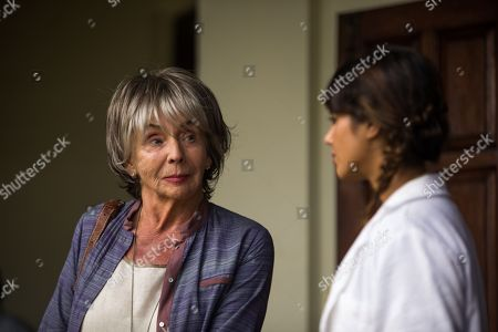 Sue Johnston as Virginia and Amrita Acharia as Dr Ruby Walker