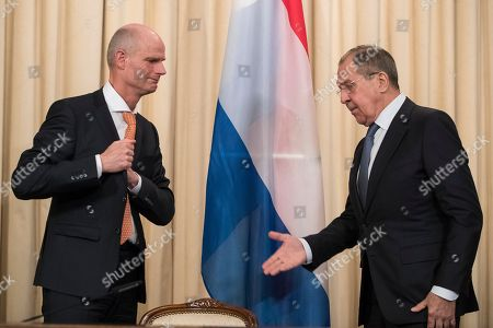 Editorial photo of Russia Netherlands, Moscow, Russian Federation - 13 Apr 2018
