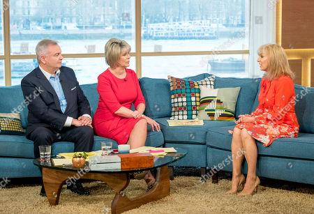 Eamonn Holmes and Ruth Langsford with Julia Keys