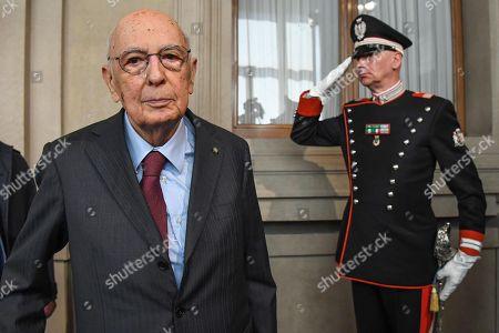 Stock Picture of Giorgio Napolitano