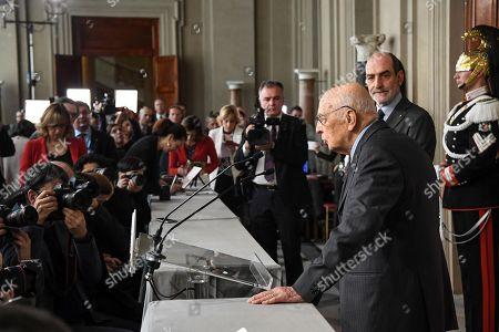 Stock Photo of Giorgio Napolitano