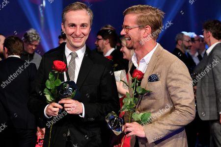 Jan Boehmermann and Joko Winterscheidt