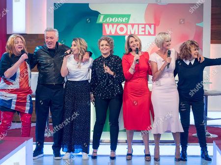 Johnny Vegas, Martin Kemp, Stacey Solomon, Nadia Sawalha, Kaye Adams, Jane Moore and Sherrie Hewson