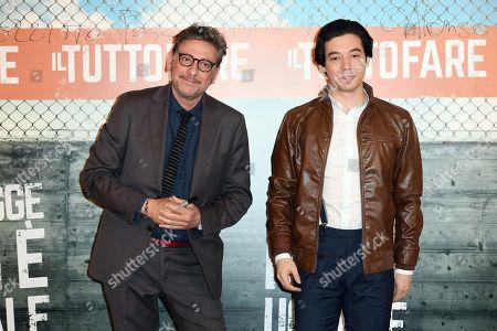 Sergio Castellitto and Guglielmo Poggi