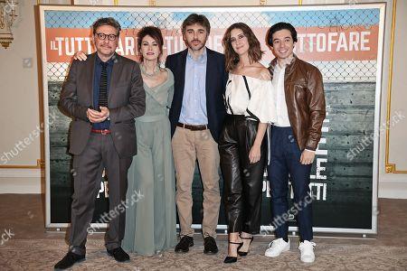 Sergio Castellitto, Elena Sofia Ricci, Valerio Attanasio, Clara Alonso, Guglielmo Poggi