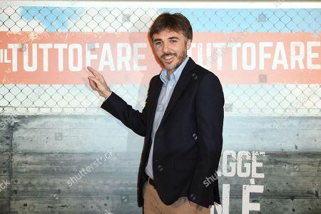 Editorial image of 'Il Tuttofare' film photocall, Rome, Italy - 13 Apr 2018