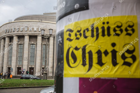 Stock Image of Controversial Volksbühne director Chris Dercon resigns