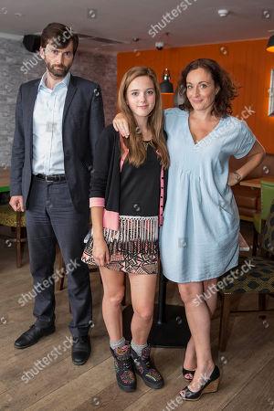 David Tennant as D.I Alec Hardy, Hannah Rae as Daisy and Lucy Cohu as Tess Henchard as Tess.