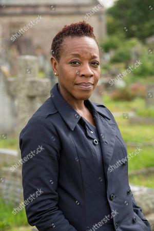 Marianne Jean-Baptiste as Sharon Bishop.