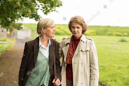 Carolyn Pickles as Maggie Radcliffe and Charlotte Rampling as Jocelyn Knight.