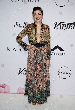 Actress Barrett Wilbert Weed attends Variety's Power of Women: New York event at Cipriani Wall Street, in New York
