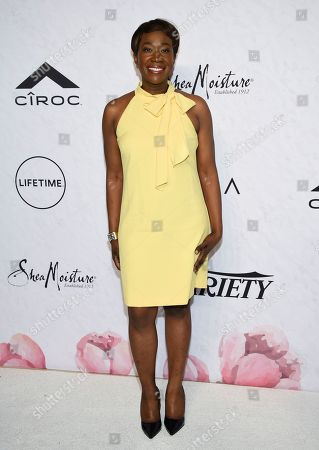 Stock Image of Television host Joy-Ann Reid attends Variety's Power of Women: New York event at Cipriani Wall Street, in New York