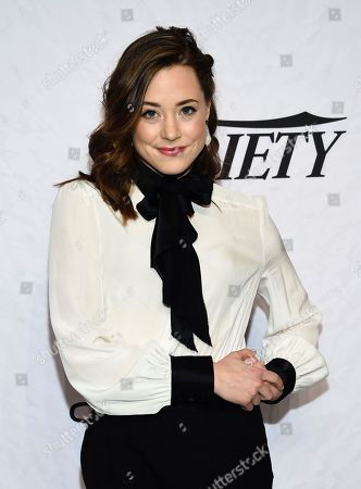 Erika Henningsen attends Variety's Power of Women: New York event at Cipriani Wall Street, in New York
