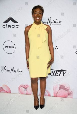 Television host Joy-Ann Reid attends Variety's Power of Women: New York event at Cipriani Wall Street, in New York