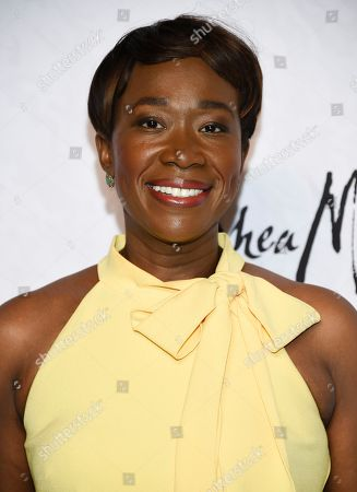 Stock Photo of Television host Joy-Ann Reid attends Variety's Power of Women: New York event at Cipriani Wall Street, in New York