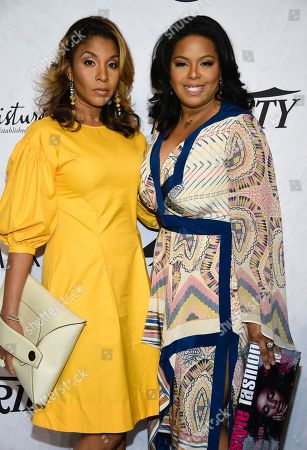 Dawn F. Moore, Dia Simms. Dawn F. Moore, left, and Dia Simms attend Variety's Power of Women: New York event at Cipriani Wall Street, in New York