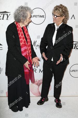 Margaret Atwood and Claudia Eller