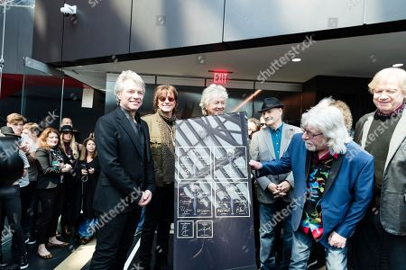 Editorial photo of Rock Hall Unveils New Hall of Fame, Cleveland, USA - 13 Apr 2018