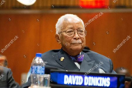 David Dinkins, first African-American mayor of New York City and a leading anti-apartheid activist