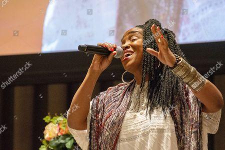 Haitian singer Emeline Michel