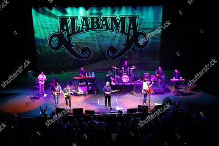 Randy Owen, Teddy Gentry, Jeff Cook. Randy Owen, Teddy Gentry and Jeff Cook with Alabama performs at the Fabulous Fox Theatre, in Atlanta