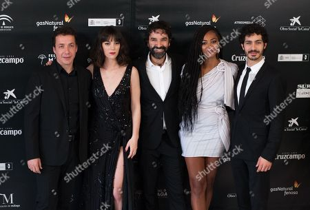 Mateo Gil, Irene Escolar, Vito Sanz, Vicky Luego, Chino Marin, Berta Vazquez and Juan Betancourt