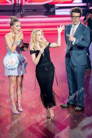 Editorial picture of 'Lets Dance' TV show, Ossendorf, Germany - 13 Apr 2018