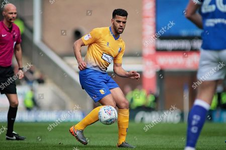 Mansfield Town midfielder Jacob Mellis (8)during the EFL Sky Bet League 2 match between Chesterfield and Mansfield Town at the Proact stadium, Chesterfield, England on 14 A pril 2018. Picture by Nigel Cole