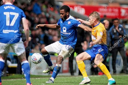 Editorial photo of Chesterfield v Mansfield Town, EFL Sky Bet League 2 - 14 Apr 2018