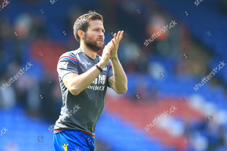 Yohan Cabaye of Crystal Palace during Crystal Palace vs Brighton & Hove Albion, Premier League Football at Selhurst Park on 14th April 2018