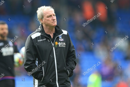 Assistant Manager of Crystal Palace Ray Lewington during Crystal Palace vs Brighton & Hove Albion, Premier League Football at Selhurst Park on 14th April 2018