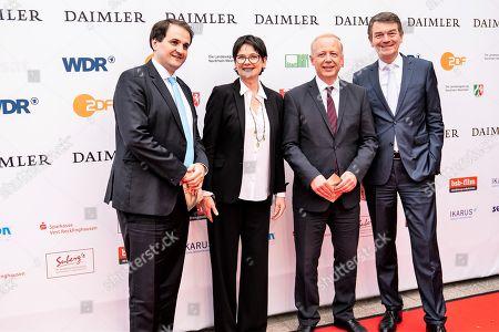 Nathanael Liminski, Dr. Frauke Gerlach, Tom Buhrow, Jörg Schönenborn
