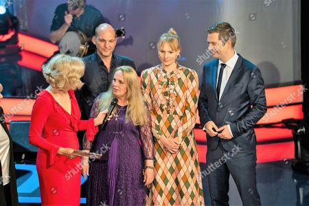 """Editorial picture of """"Grimme Preis"""" awards, Marl, Germany - 13 Apr 2018"""
