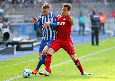 Editorial photo of Hertha BSC vs FC Cologne, Berlin, Germany - 14 Apr 2018