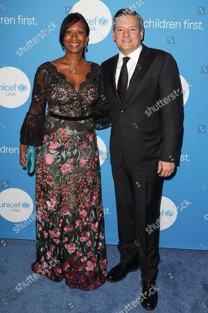Nicole Avant and Ted Sarandos