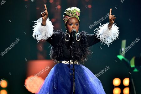 Stock Image of Lauryn Hill
