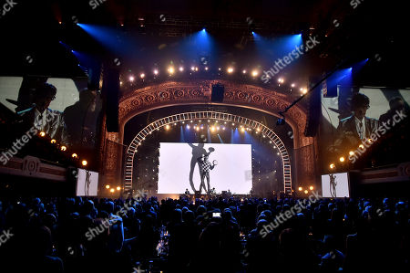 Editorial picture of Rock & Roll Hall of Fame Induction Ceremony, Show, Cleveland, USA - 14 Apr 2018