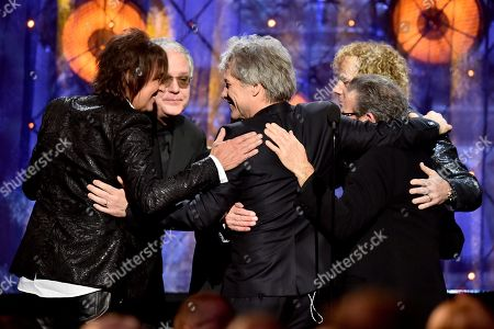 Editorial image of Rock & Roll Hall of Fame Induction Ceremony, Show, Cleveland, USA - 14 Apr 2018