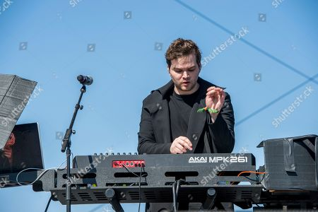 Jeremy Lloyd of Marian Hill performs at Coachella Music & Arts Festival at the Empire Polo Club, in Indio, Calif