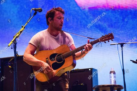 Robin Pecknold of the Fleet Foxes performs at the Coachella Music & Arts Festival at the Empire Polo Club, in Indio, Calif