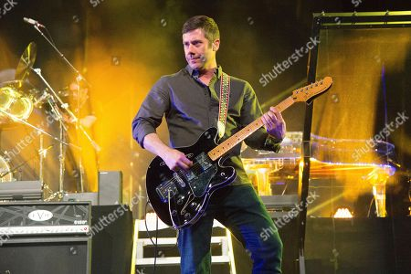 Wes Borland of Limp Bizkit n performs with X Japan at the Coachella Music & Arts Festival at the Empire Polo Club, in Indio, Calif