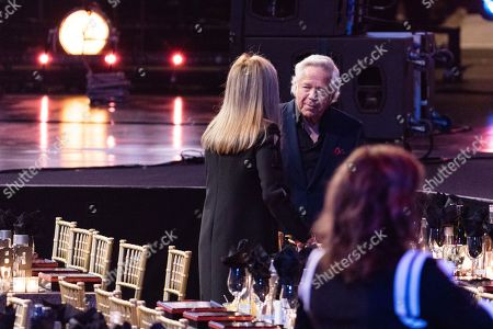 Robert Kraft is seen at the 2018 Rock and Roll Hall of Fame induction ceremony at Cleveland Public Auditorium, in Cleveland