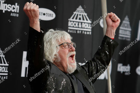 Editorial image of 2018 Rock and Roll Hall of Fame induction Ceremony, Cleveland, USA - 14 Apr 2018