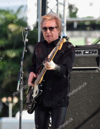 Rich Cole of The Romantics performs at Magic City Casino on in Miami, Fla