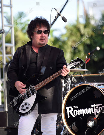 Wally Palmar of The Romantics performs at Magic City Casino on in Miami, Fla